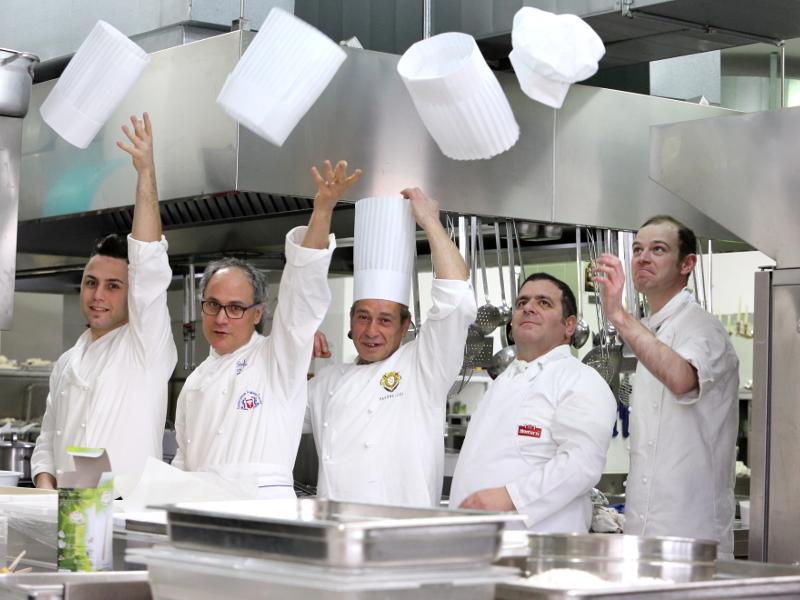 Sala ricevimenti: lo staff di cucina